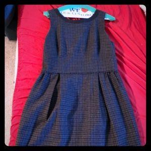 J Crew plaid sleeveless dress
